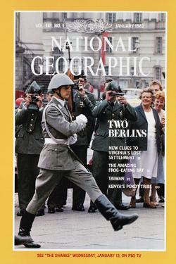 Cover of the January, 1982 National Geographic Magazine by Cotton Coulson