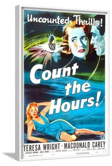 Count the Hours--Framed Art Print