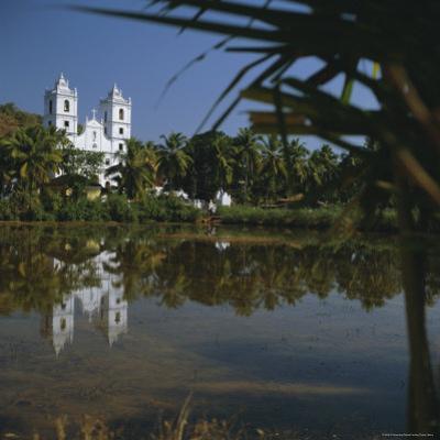Country Church, Goa, India, Asia by G Richardson
