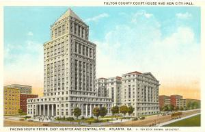 County Courthouse, Atlanta, Georgia