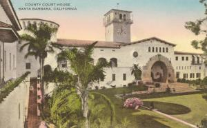 County Courthouse, Santa Barbara, California