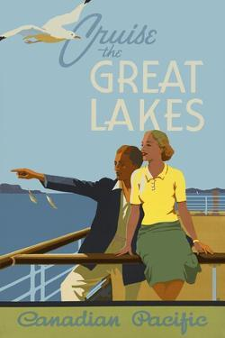 Couple, Cruise the Great Lakes Canadian Pacific