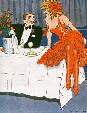 Couple Drinking 1908