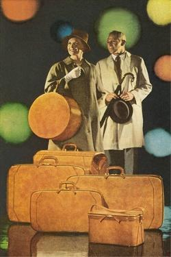 Couple with Lots of Luggage