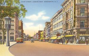 Court Street, Binghamton, New York