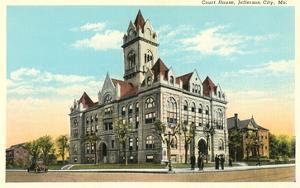 Courthouse, Jefferson City, Missouri