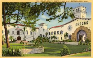 Courthouse, Santa Barbara, California