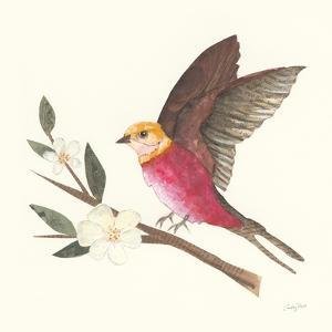 Birds and Blossoms IV by Courtney Prahl