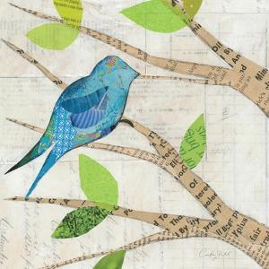 Birds in Spring I Square by Courtney Prahl