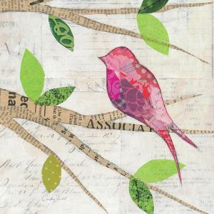 Birds in Spring IV Square by Courtney Prahl