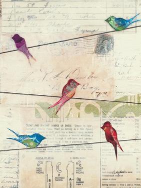 Birds on a Wire by Courtney Prahl