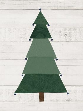 Christmas Patchwork I Neutral by Courtney Prahl