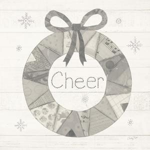 Christmas Patchwork III Neutral by Courtney Prahl