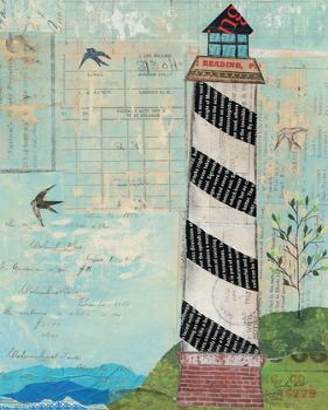 Coastal Lighthouse II by Courtney Prahl