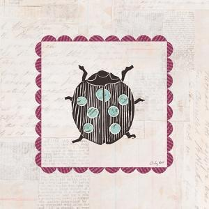 Ladybug Stamp Bright by Courtney Prahl