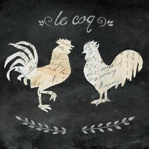 Le Coq Cameo Sq by Courtney Prahl