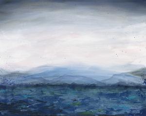Mountain Lake by Courtney Prahl