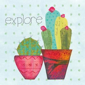 Southwest Cactus I by Courtney Prahl