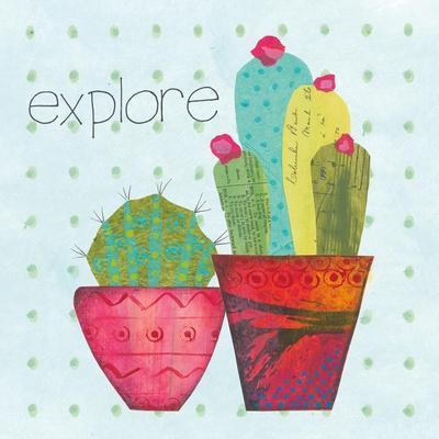 Southwest Cactus I