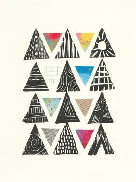 Triangles with Border by Courtney Prahl