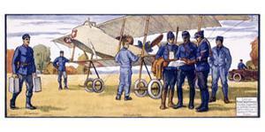 Mobilisation, 1914 by Courvoisier