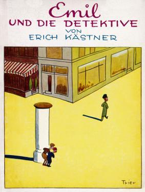 Cover Illustration of the Original Edition of Emil Und Die Detektive