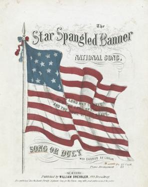 Cover of a Musical Score of the Star-Spangled Banner