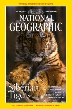 Cover of the February, 1997 National Geographic Magazine