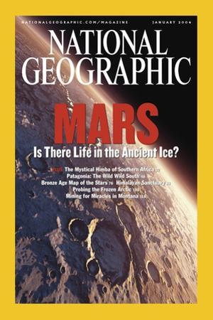 Cover of the January, 2004 National Geographic Magazine
