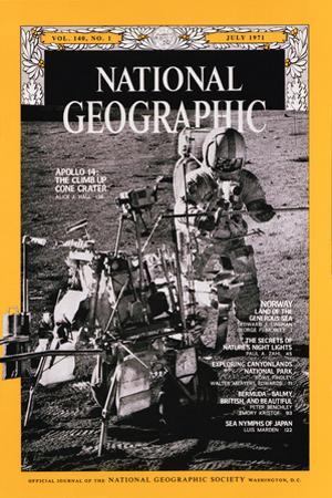 Cover of the July, 1971 National Geographic Magazine