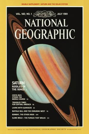 Cover of the July, 1981 National Geographic Magazine