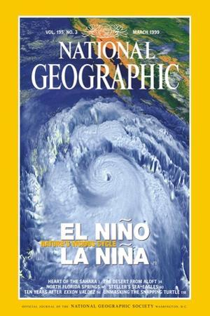 Cover of the March, 1999 National Geographic Magazine