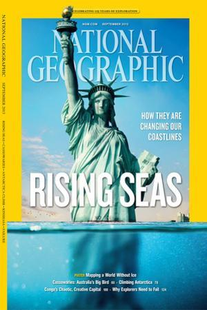 Cover of the March, 2013 National Geographic Magazine