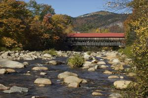 Covered Bridge Over the Swift River in Albany, New Hampshire