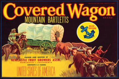 Covered Wagon Brand Mountain Bartletts