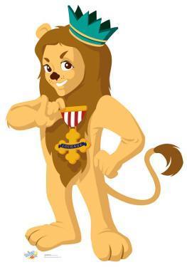 Cowardly Lion - Kids Wizard of Oz