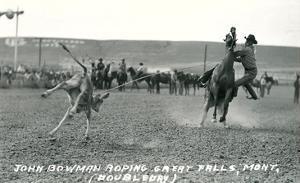 Cowboy Calf-Roping, Montana