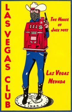 Cowboy Slot Machine, Las Vegas, Nevada