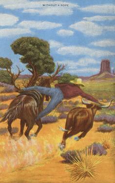Cowboy Steer-Wrestling