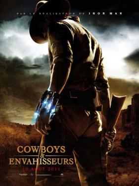 Cowboys & Aliens - French Style Poster