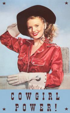 Cowgirl Power, Silk Shirt and Gloves