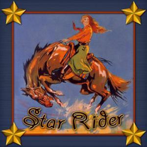 Cowgirl Star Rider