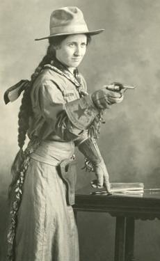 Cowgirl with Long Braid