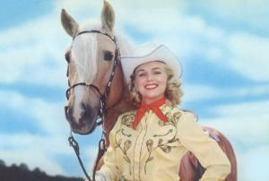 Cowgirl with Palomina