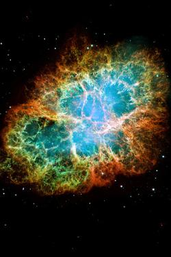 Crab Nebula Space Photo