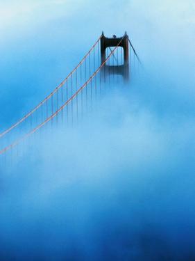 Golden Gate Bridge in Fog by Craig Aurness