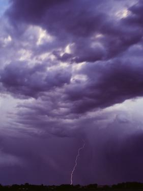 Lightning and Storm Clouds by Craig Aurness