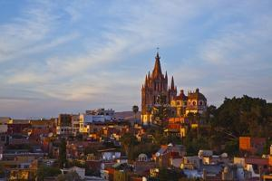 Cathedral of San Miguel De Allende at Sunset by Craig Lovell