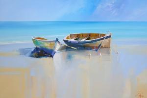 Afternoon Gulls by Craig Trewin Penny