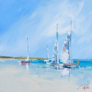Aspendale Sails 1 by Craig Trewin Penny
